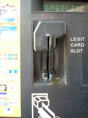 Here's What A Card Skimmer Looks Like On An ATM