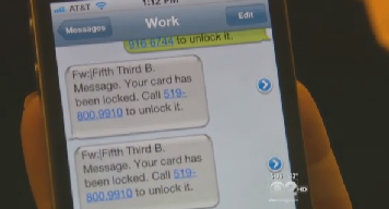 """Don't Fall For The """"Locked Debit Card"""" Text Alert Scam"""