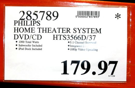 """This price tag has both the """".97"""" ending and the """"*"""" in the upper-right corner, indicating it is discounted and won't be reordered once it sells out. (HubPages.com)"""