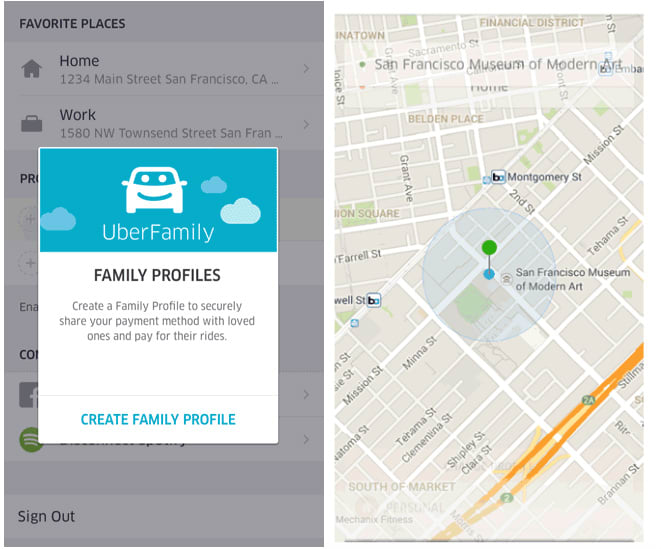Uber Now Allows You To Add 10 People To One Account With