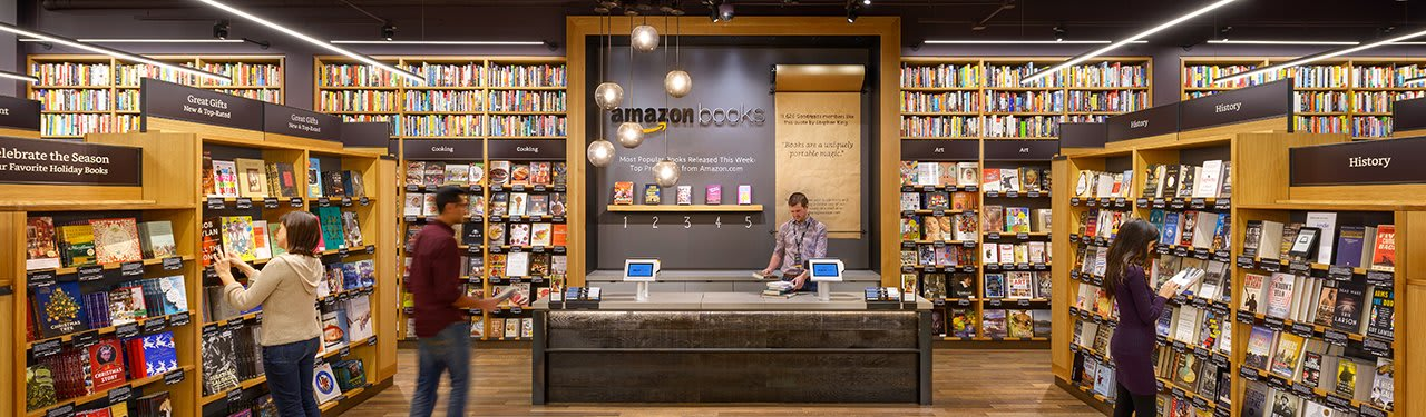 Amazon's Bookstores Apparently Aren't Bringing In Many Sales