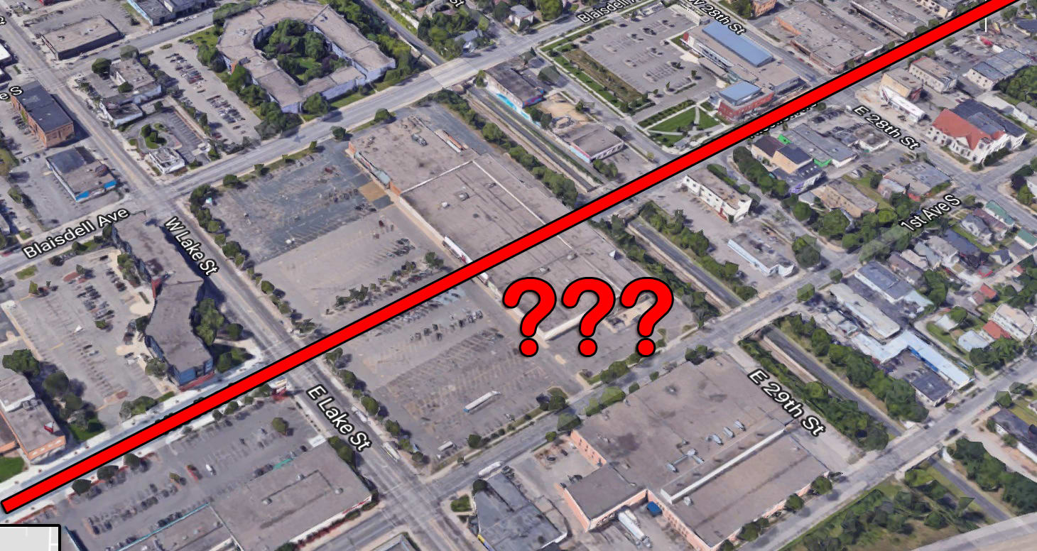 Why Is There A Kmart In Minneapolis That Blocks An Entire