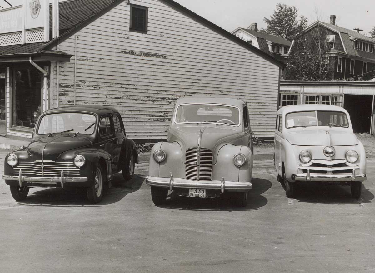 Small cars, 1948