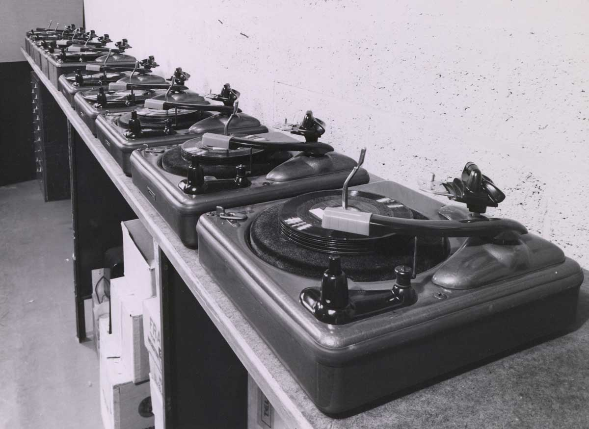 Record changers, 1950