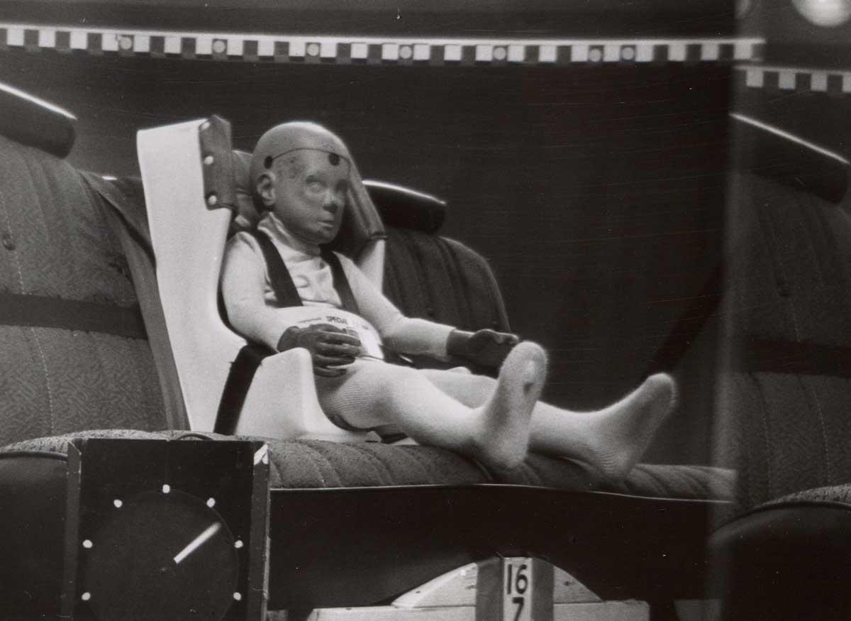 Car safety for children, 1977