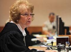 La juez Colleen Toy White