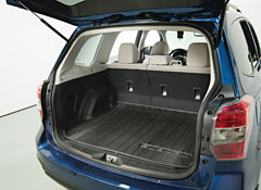 cars with best in class cargo capacity and fuel economy - Ford Explorer 2015 Trunk Space