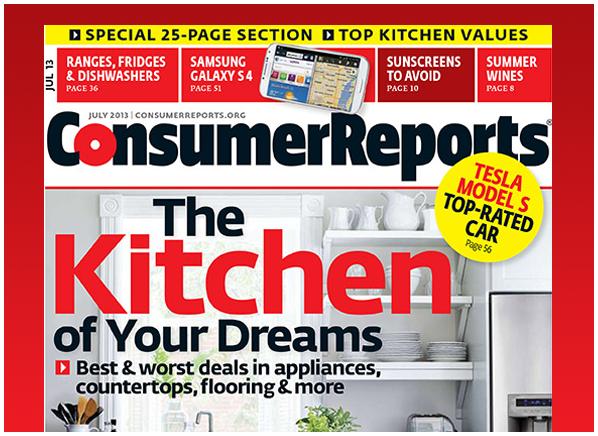 Consumer Reports Magazine Kitchen Appliances