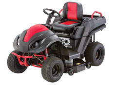 A Hybrid Lawn Tractor That Can Travel At 17 Mph And Packs 7 100 Watt Generator May Have Been An Idea Before Its Time The Raven Mpv 710 3 000