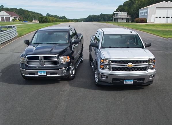 Dodge Ram 1500 vs. Chevy Silverado 1500 Review - Consumer Reports