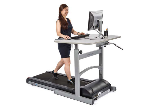 Most Of Our Panelists Preferred This Lifespan Treadmill Desk