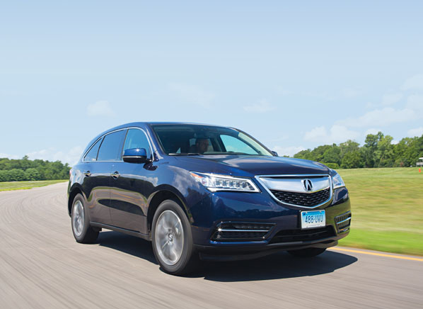 Acura MDX Review - Acura mdx review 2014