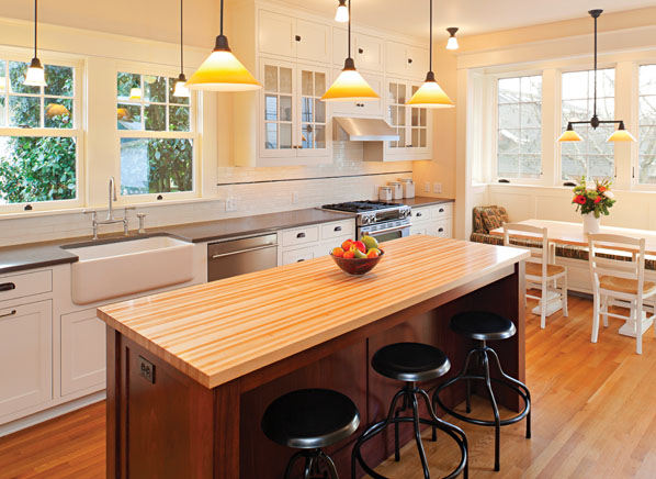 kitchen dining lighting. a centrally placed ceiling fixture or recessed lights usually provide general lighting here supplemented by under cabinet for tasks kitchen dining