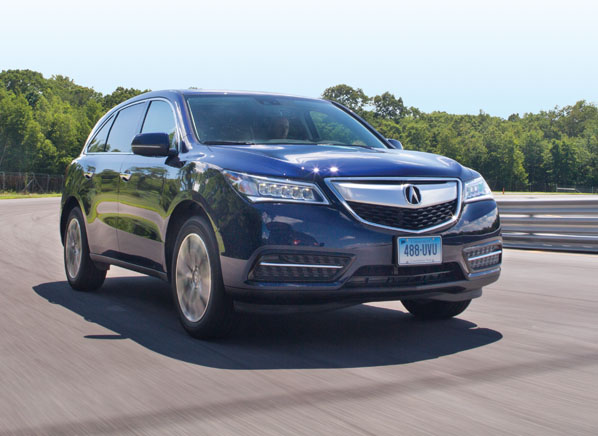 acura mdx - Suv Ratings
