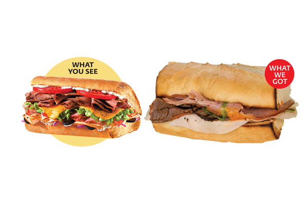 Consumer Reports Fast Food Not As Pictured