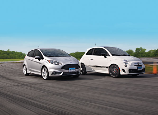 Ford Fiesta Vs Fiat 500 Abarth Road Test Review