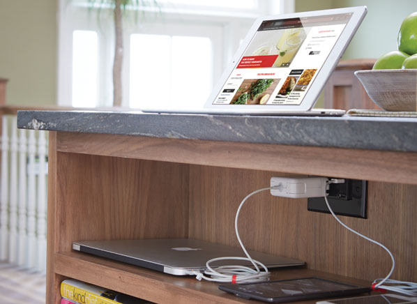 Charging stations, easy-care surfaces, and other time savers