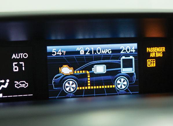 Subaru Xv Crosstrek Is A Disointing Hybrid