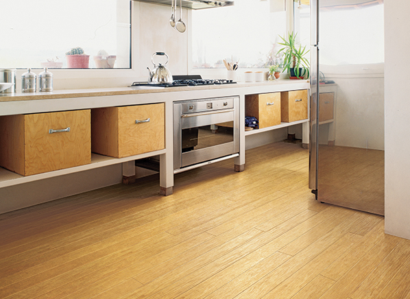 Laminate Flooring In A Kitchen quickstep calando light grey oak effect laminate flooring 159 m pack Floors That Stand Up To Dropped Pots Spilled Food And Other Abuse