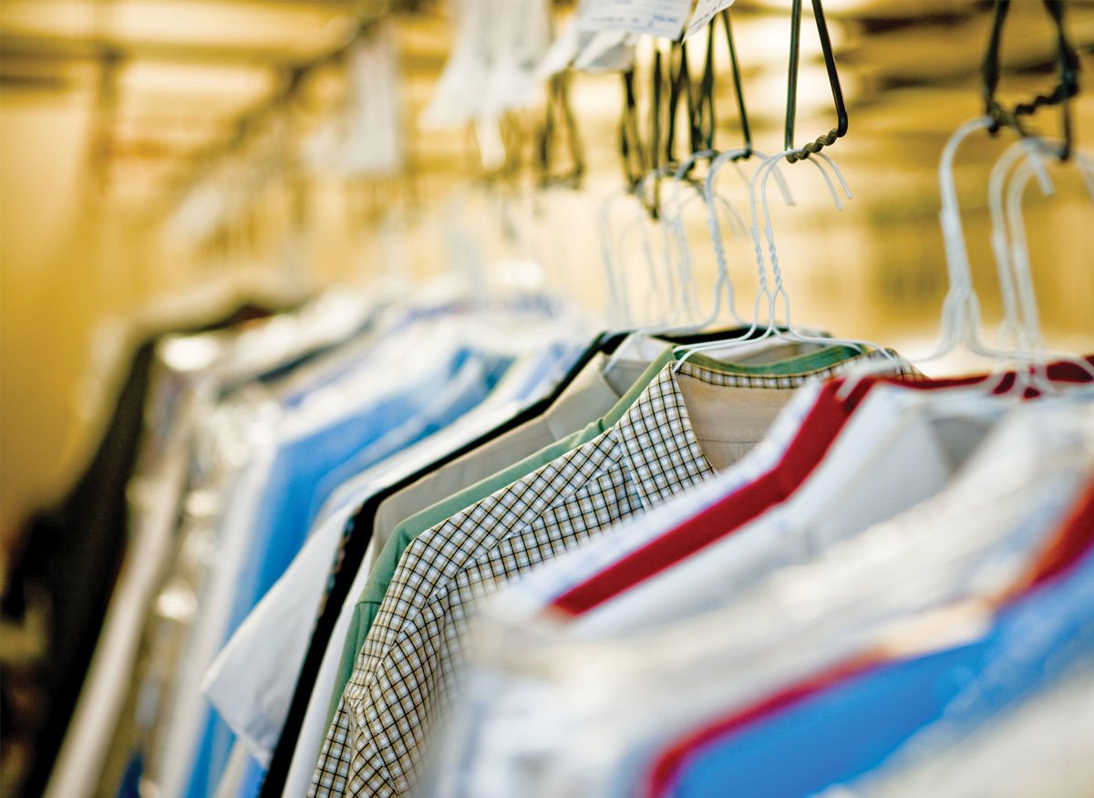 An image of drycleaning