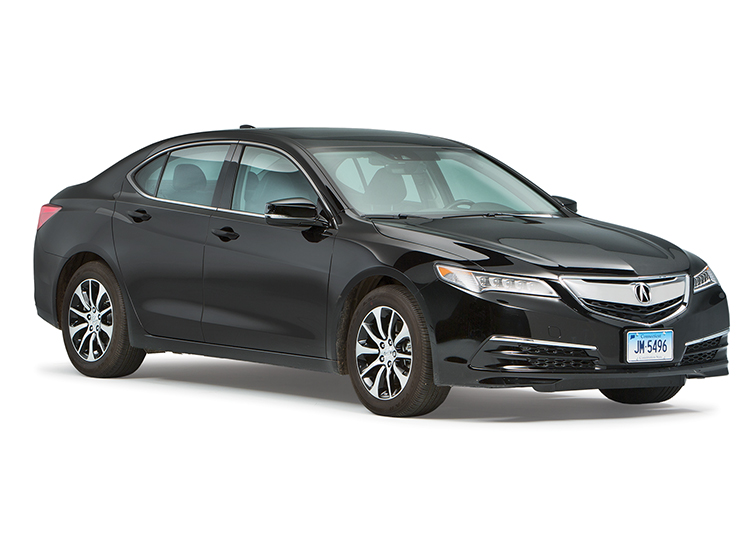 Acura TLX was among the cars that took part in regular vs. premium gas testing.