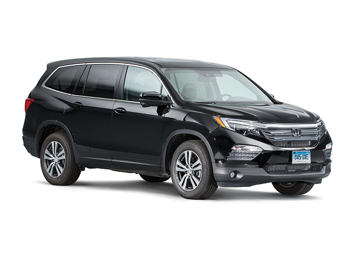 Midsize Three Row Suv Rivals Face Off