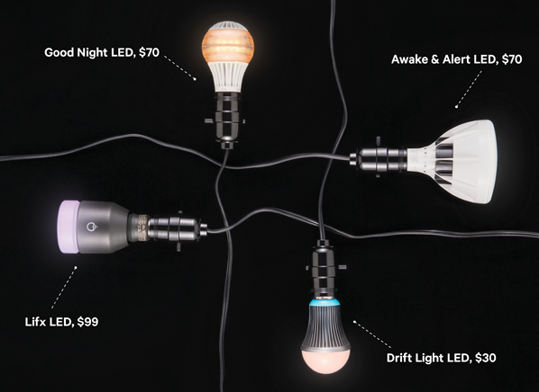 Lightbulbs That Want to Change Your Mood