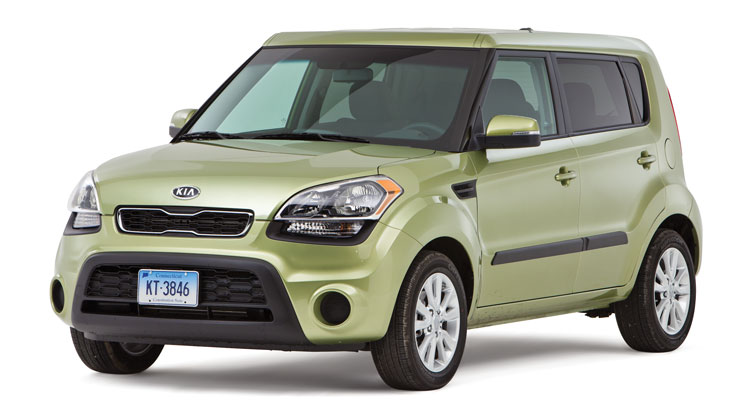 A photo of the Kia Soul, a model considered by Consumer Reports experts to be one of the best used cars available.