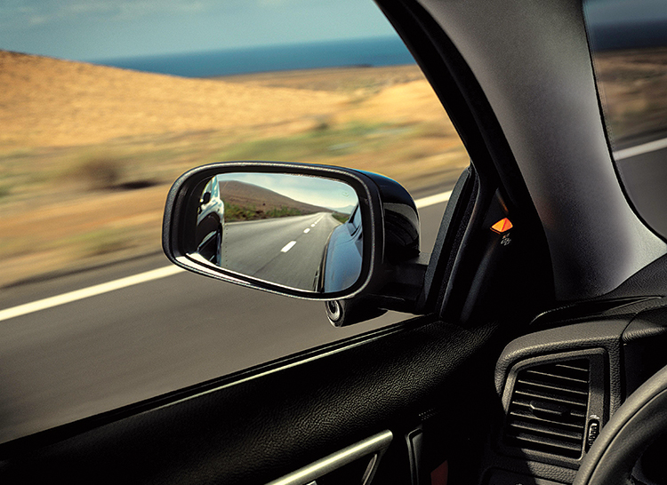 Volvo's S60 Blind Spot mirror can help you avoid a car crash