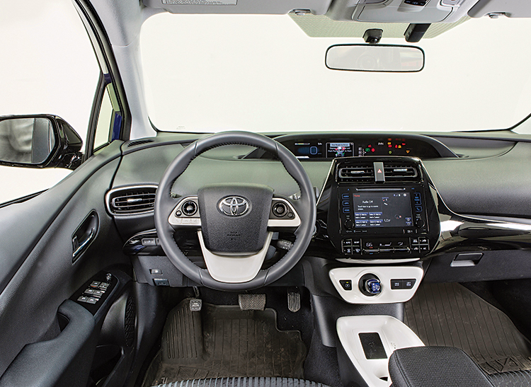 Interior Of The 2016 Toyota Prius Review