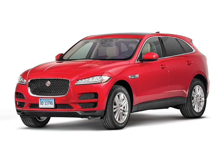 2017 Jaguar F Pace Review