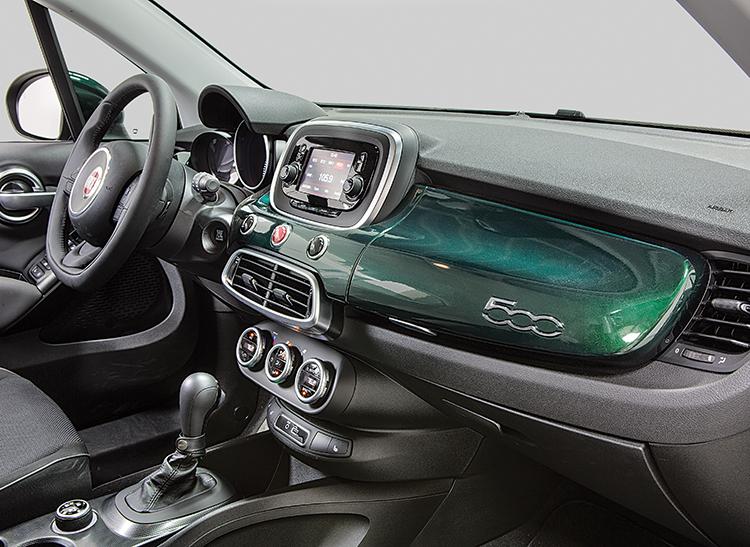 2016 Fiat 500X Interior Passenger Side