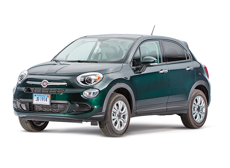 2016 fiat 500x review consumer reports for Fiat 500x exterior
