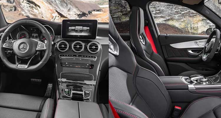 The Interior Of 2016 Mercedes Benz Glc300