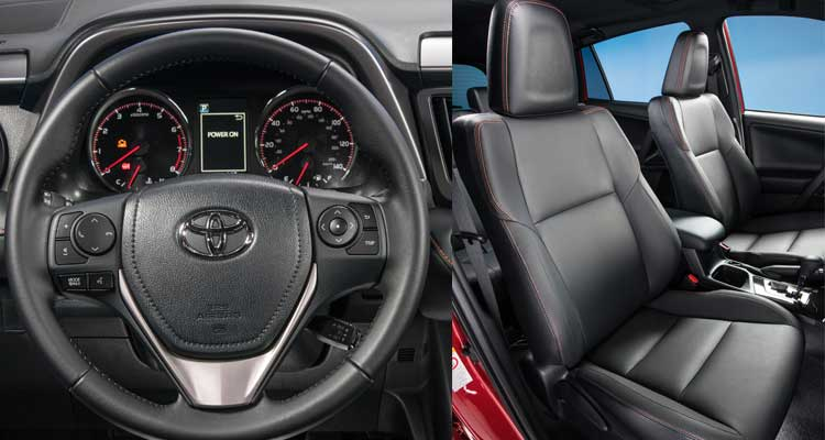 The Interior Of 2016 Toyota Rav4
