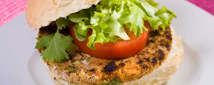 Veggie burgers can be grilled too