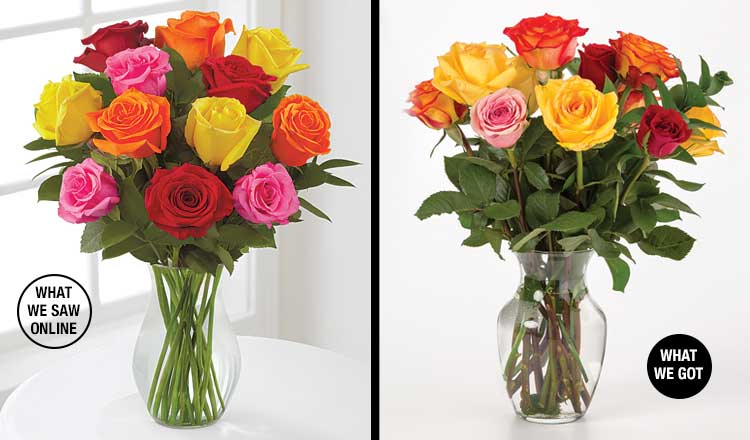 Buying FTD flowers online