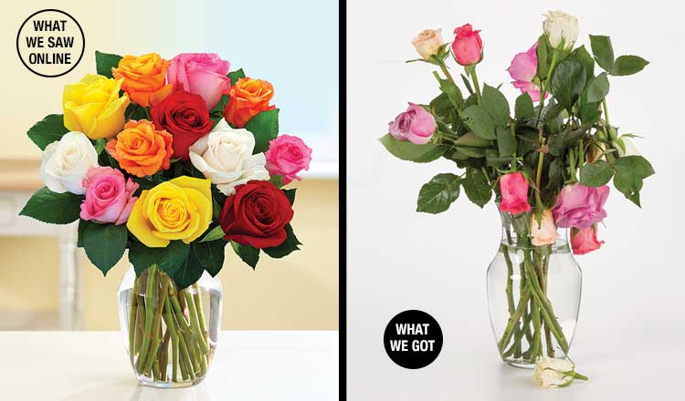 Ordering Flowers Online - Consumer Reports