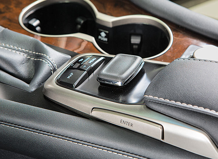 2016 Lexus Rx 350 Cupholders And Controller