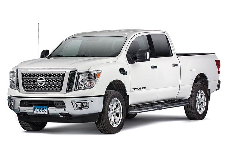 2016 nissan titan xd review consumer reports. Black Bedroom Furniture Sets. Home Design Ideas
