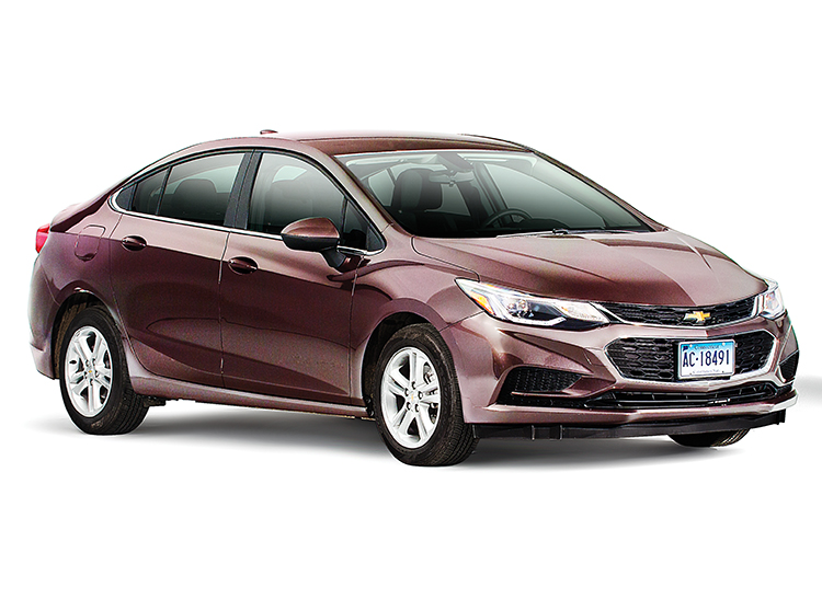 2016 Chevrolet Cruze Front