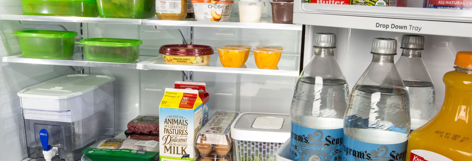 What is the advantage of two-chamber refrigerators