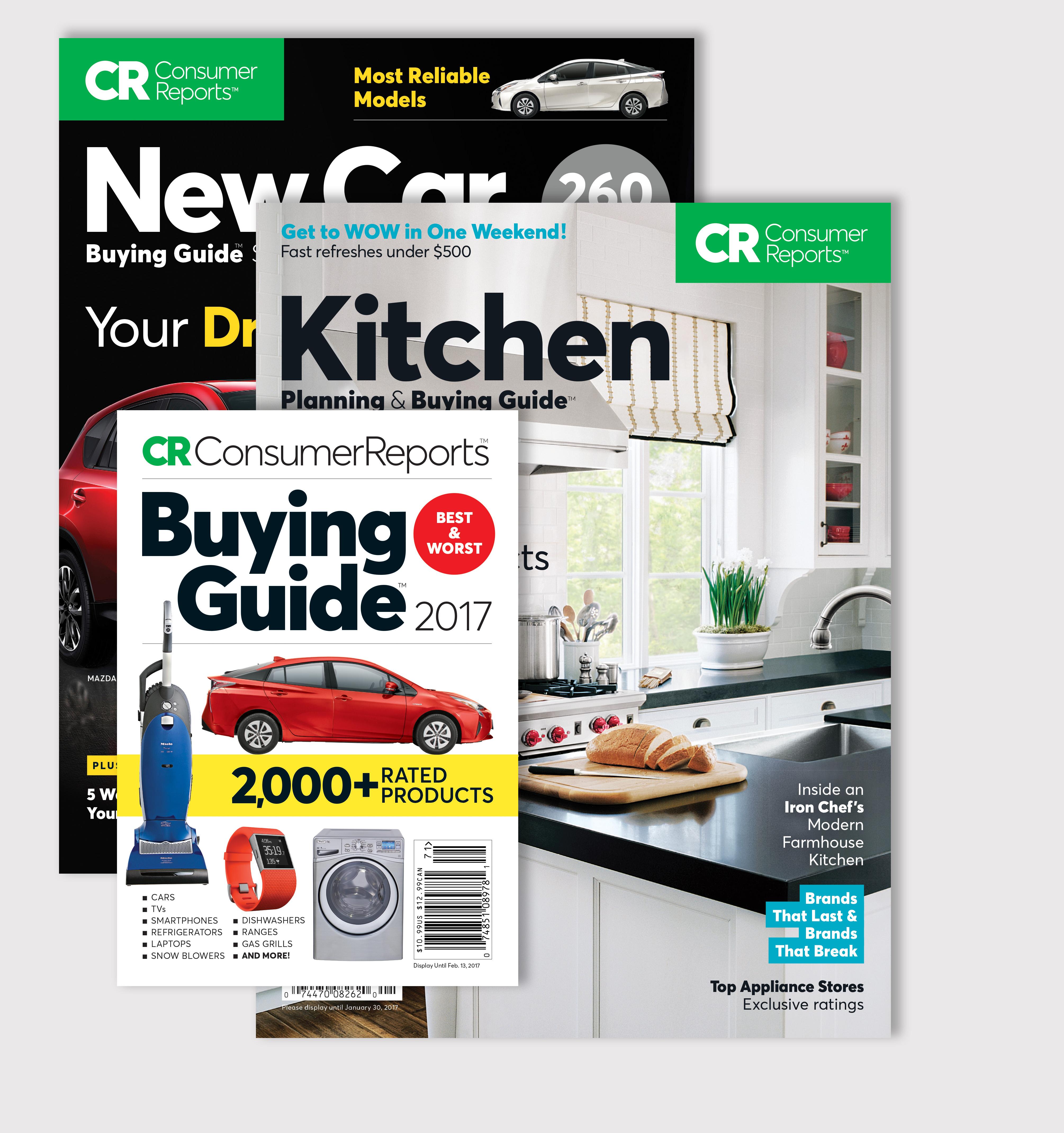 Consumer Reports Bookstore Consumer Reports