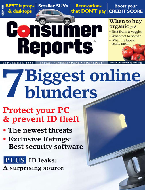 CR September '08 Cover