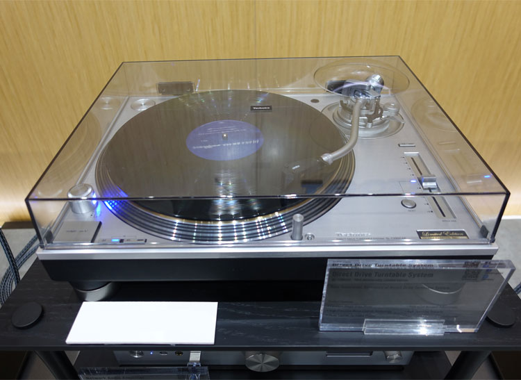 This is an image of a Technics record player