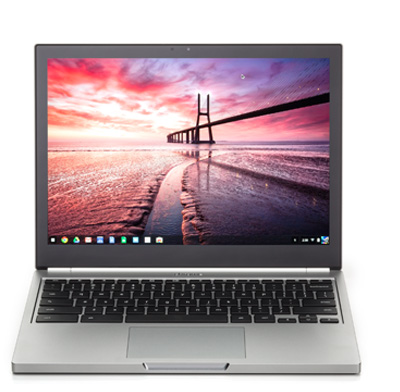 Photo of a chromebook computer.