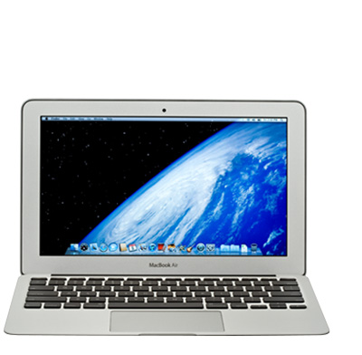 "Photo of a smaller laptop (10"" to 13"") computer."