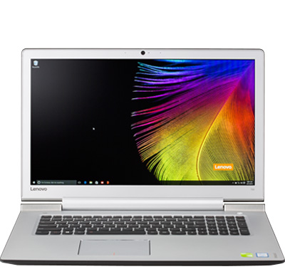 "Photo of a large laptop (17"" to 18"") computer."