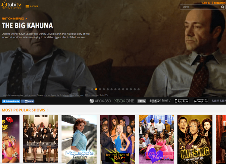 Tubitv.com is one of the popular streaming sites.