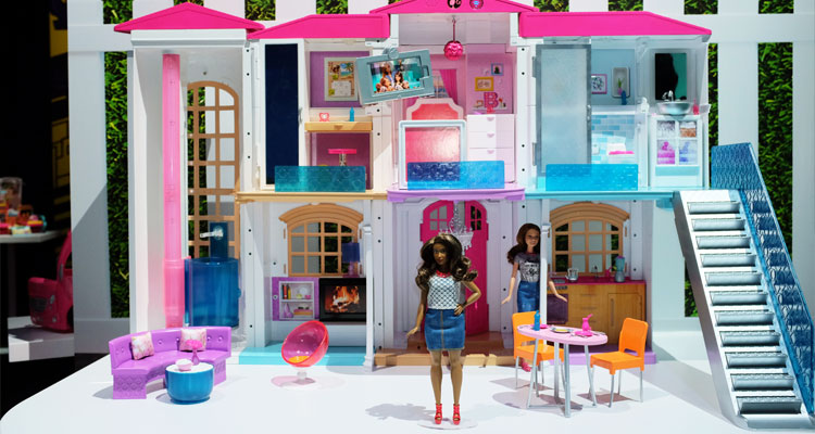 Connected toys are a major trend as evidenced by the Barbie Hello Dream House